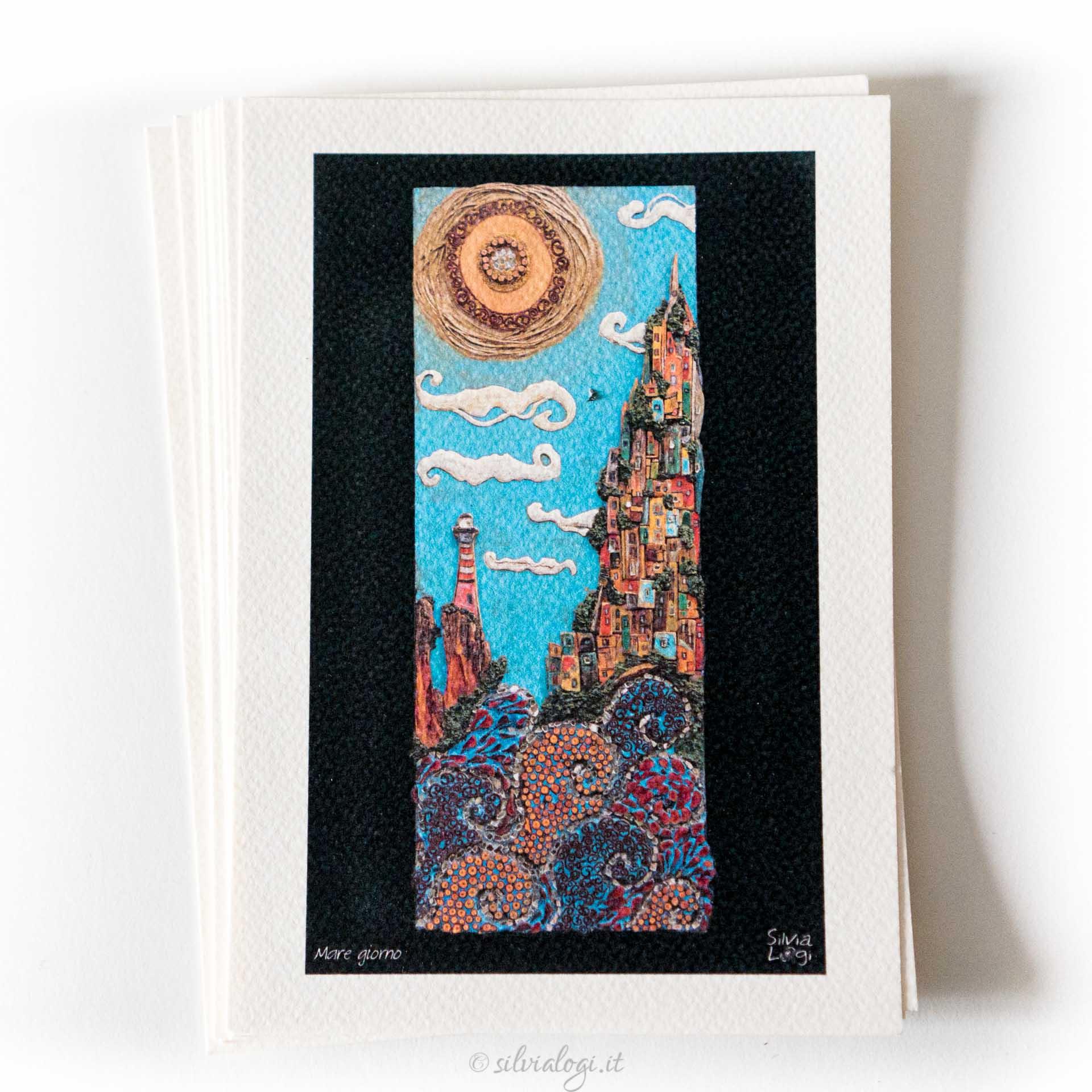 Silvia logi cartoline quadri paesaggi verticali for Quadri verticali