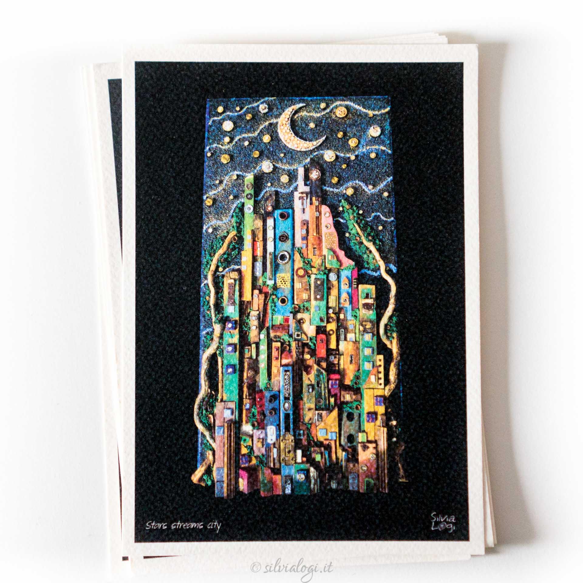 Silvia logi cartoline quadri for Quadri verticali
