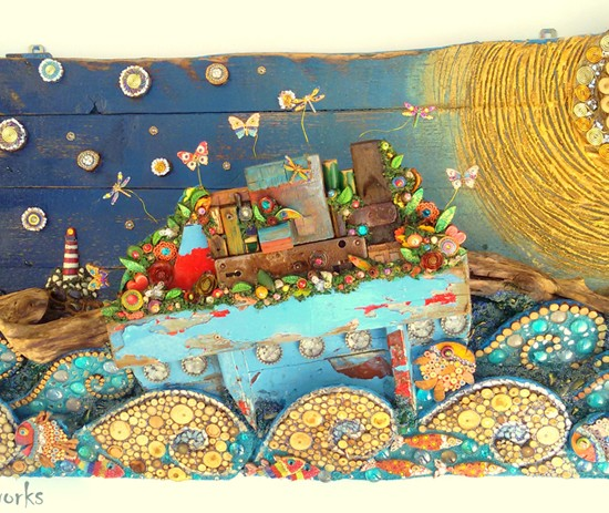 Journey of the Ark of Beauty 120 x 55 x 24