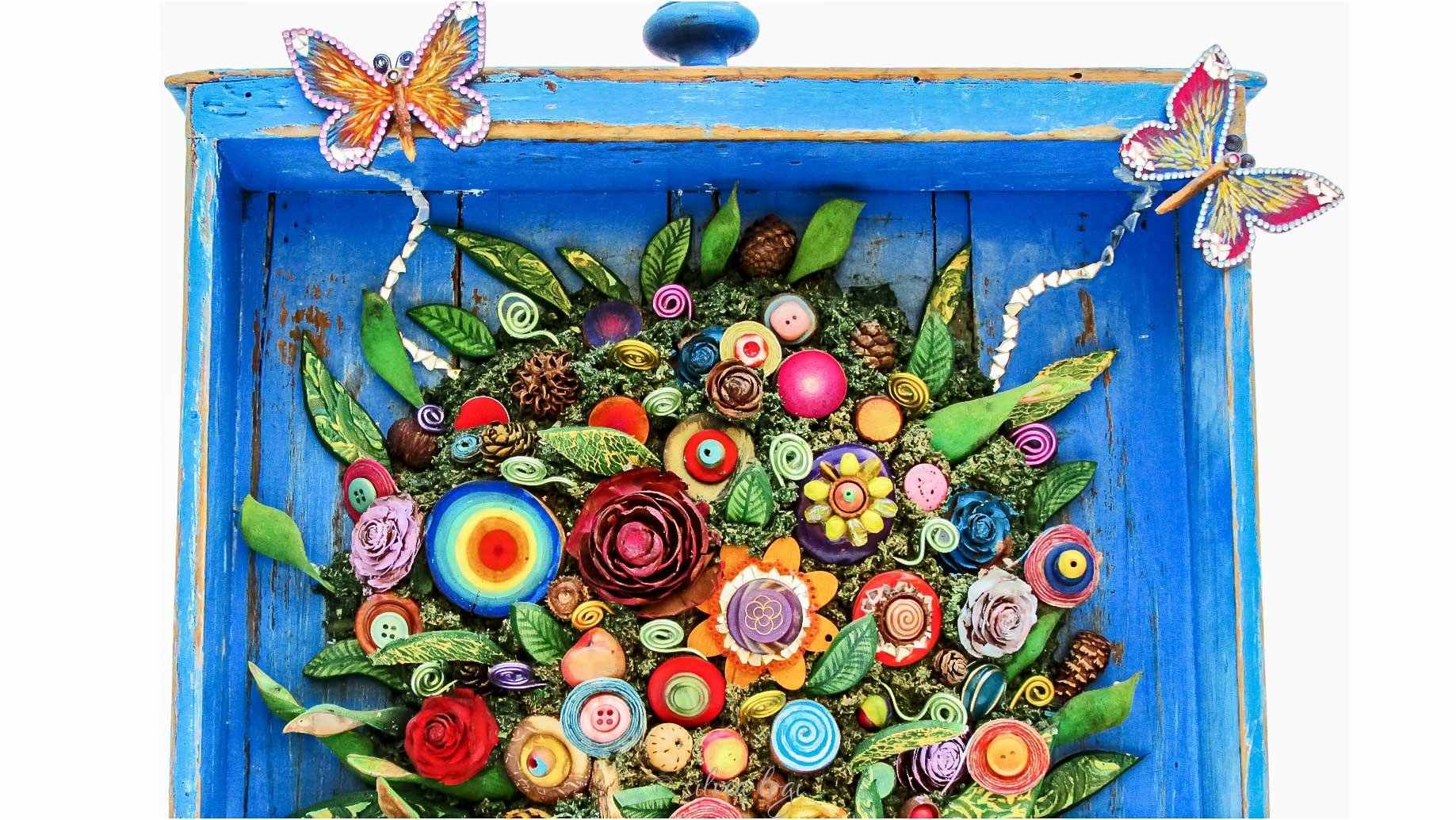 Silvia logi il cassetto dei fiori segreti - Il giardino dei fiori segreti ...