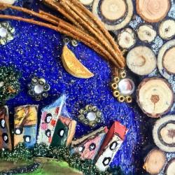 Paesaggio notturno interiore dettaglio