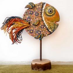 pesce palla coda pavone