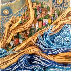 sogno di cielo, mare e vento 58x27x11 centrale