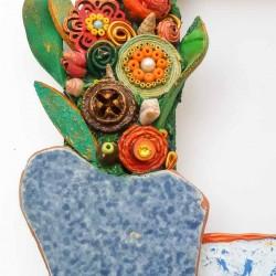 Vaso di fiori primaverili dett 1