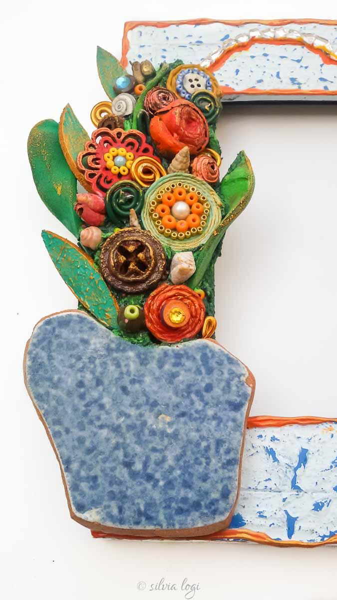 Silvia logi photo frame vaso di fiori primaverili - Fiori primaverili ...